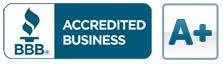 Reviews and testimonial rating from the Better Business Bureau