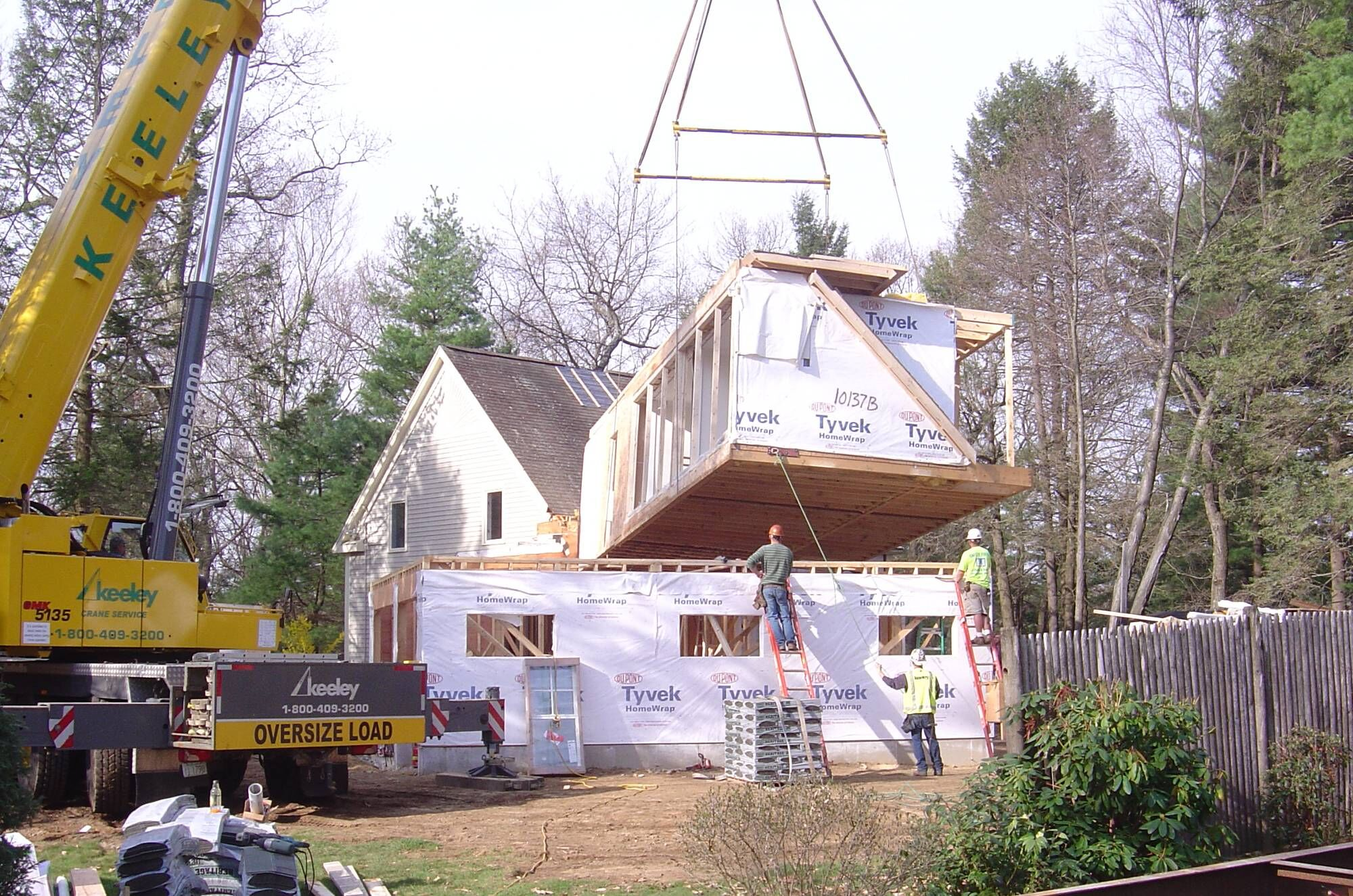 New Modular Home Building in Hingham MA
